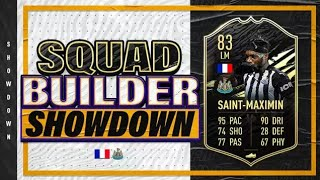 FIFA 21 Squad Builder Showdown on IF Saint Maximin!!! so close to 100k!!