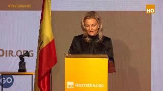 Katalin Tóth embajadora de Hungría en España habla en los Premios HO 2021