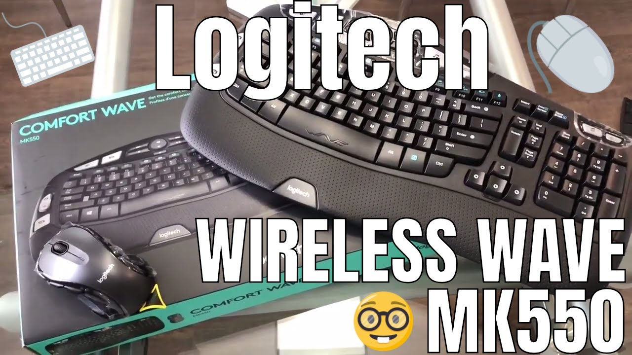 8af6e117e13 Logitech MK550 Wireless Wave Keyboard and Mouse Combo | Unboxing Review