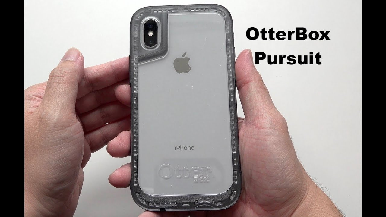reputable site 97c72 cab61 OtterBox Pursuit Series Case for iPhone X