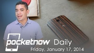 Dual Android-Windows Phone launched, More Wooden Moto X, HTC M8 & more - Pocketnow Daily