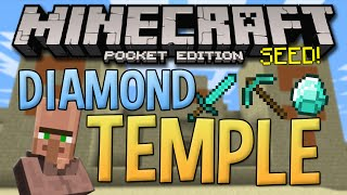 desert temple village seed with diamonds minecraft pocket edition