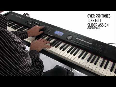 Roland RD-700NX Digital Piano - Synthesizer Capabilities