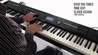 Roland RD-700NX Digital Piano - Synthesizer Capabilities