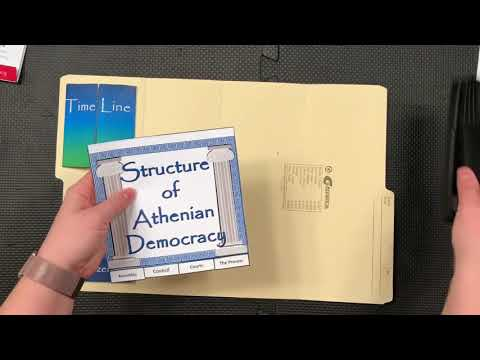 Athenian Democracy Lapbook Tutorial