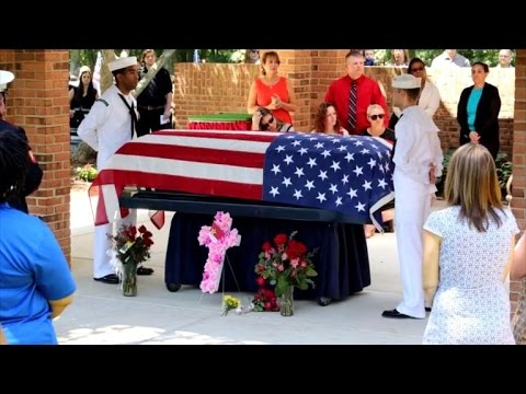 Why 200 Strangers Attend Funeral For Homeless WWII Navy Veteran
