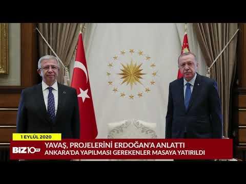 Mansur Yavaş Külliye'de Cumhurbaşkanı Erdoğan İle Görüştü