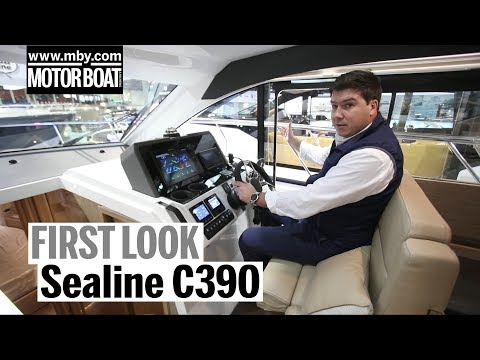 Sealine C390 | First Look | Motor Boat & Yachting
