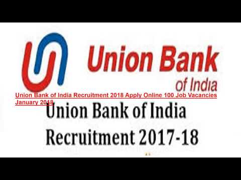Union Bank Of India Recruitment Apply