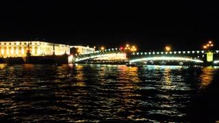 14.08.2015 Развод мостов СПб