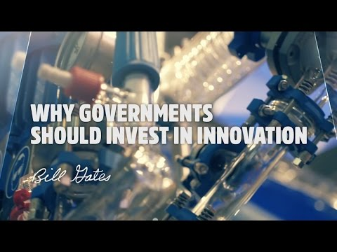Why Governments Should Invest in Innovation