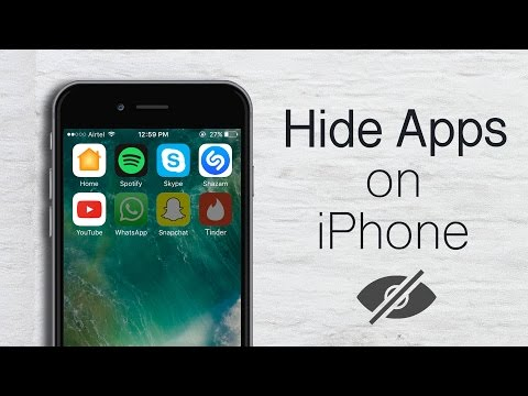How to Hide Apps on iPhone (2020).