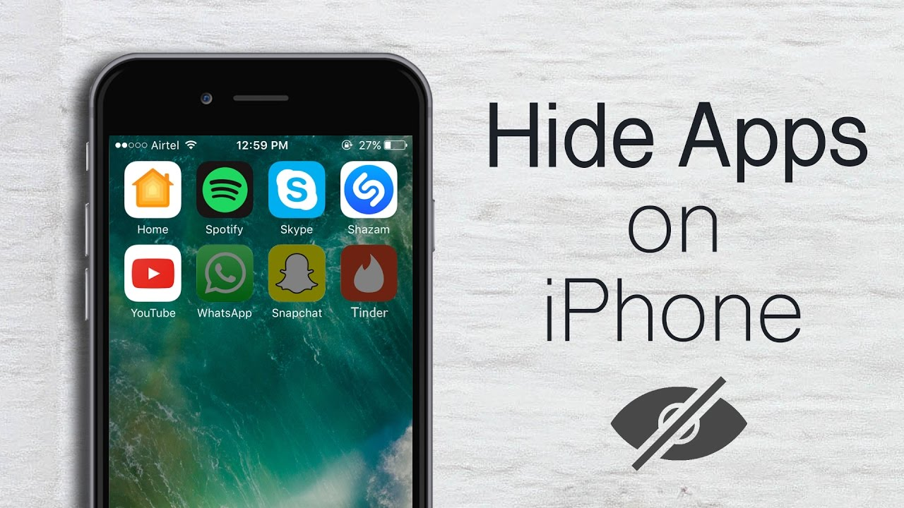 how do you hide apps on iphone how to hide apps on iphone or no jailbreak 19740