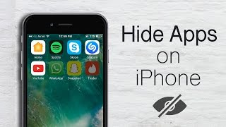 How to Hide Apps on iPhone or iPad (No Jailbreak)