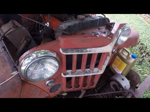 Willys Truck Take 19: Electrical Issue & Clutch Inspection