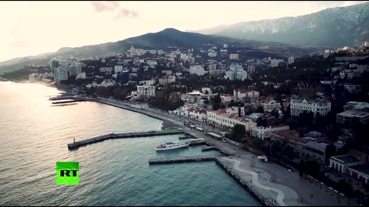 Зимний Крым: Ялта