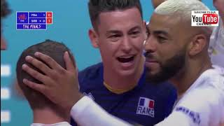 France vs Serbia men's volleyball nations league 2018 Final Round HD