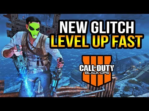 Black Ops 4 Zombies - New Light Pole Godmode Glitch! Level Up Fast! (Updated)