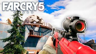 Far Cry 5 - AKM CUSTOMIZATION & PLANE CRASH (Far Cry 5 Free Roam) #20