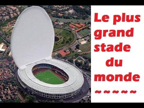 Le plus grand stade record du monde youtube for Le plus beau coq du monde