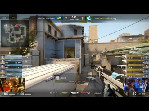 CS:GO MLG Columbus 2016 - LG vs Na'Vi - Grand Finals - Major Championship [Part1]