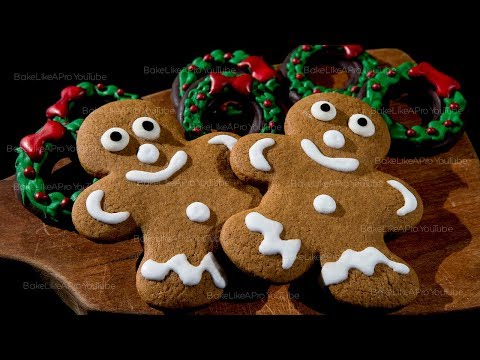 Easy Gingerbread Men Cookies Recipe