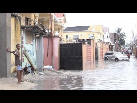 At least two deaths in Kinshasa's floods [no comment]