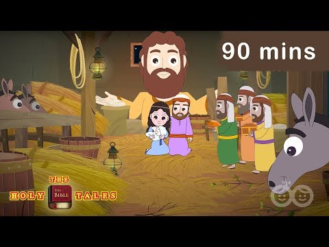 90 mins Gospel Compilation I  New Testament Stories | Animated Children