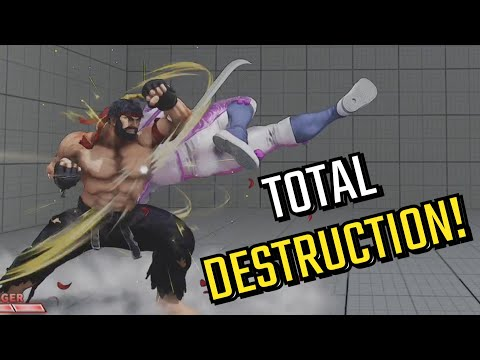 Grand Master Ryu! Crazy Combos, Sick Parries & More! [Stream Highlights 185]