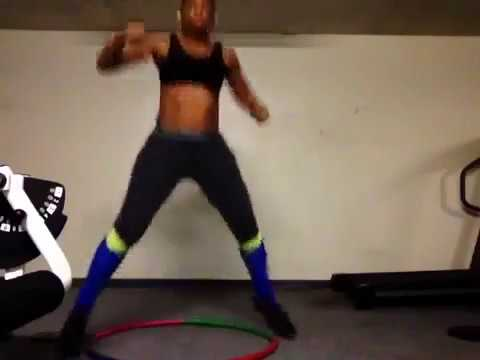 Hula Hoop for Exericse --WeightLoss--Legs, Squads, Butt, Arms workout  Cardio