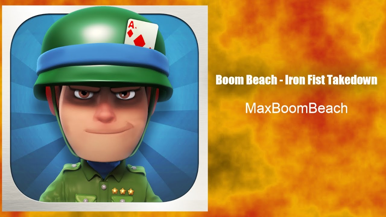 how to get iron in boom beach