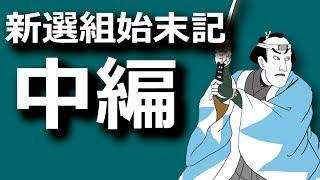 新選組始末記・中編 禁門の変から近藤勇の最後まで
