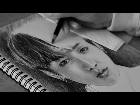 drawing-jeon-jungkook-(전정국)-from-bts-(방탄소년단)
