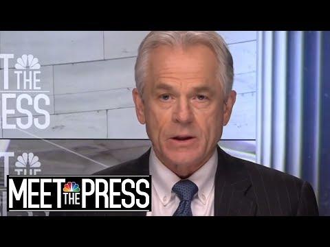 Full Navarro: Trump's Tariff Threats Not 'Negotiating Tactic' With China   Meet The Press   NBC News
