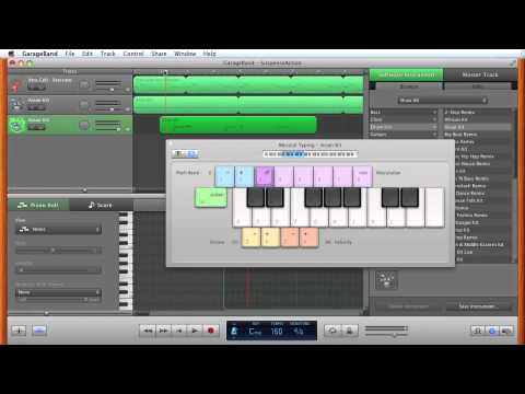 Suspense/Action Music Tutorial - Garageband