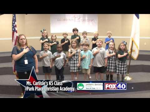 Park Place Christian Academy - Ms. Carlisle's K5 Class