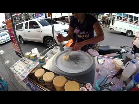Ice Pan – Ice cream made on Phuket streets in Thailand (Ice Cream Rolls)