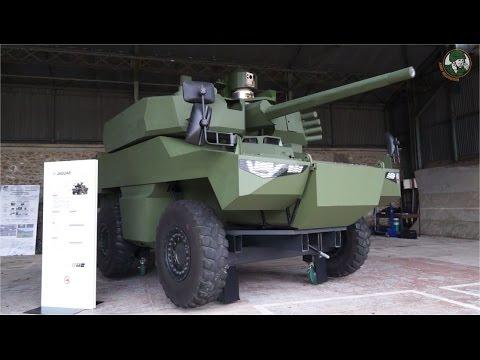 Jaguar EBRC Reconnaissance Combat Armored Vehicle blindé reconnaissance Scorpion Program French army