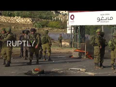 State of Palestine:  Protests curbed with tear gas in Nablus