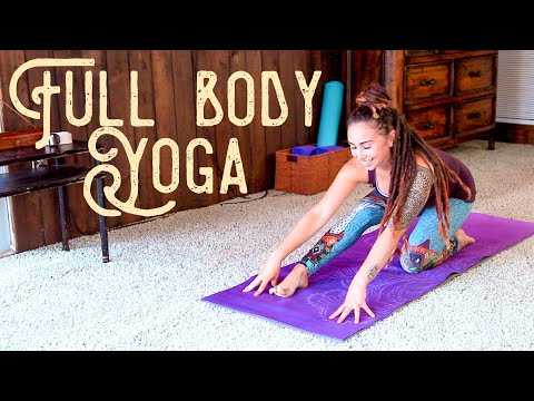 Full Body Yoga - 30 min Gentle and Deep Stretch for Flexibility and Strength