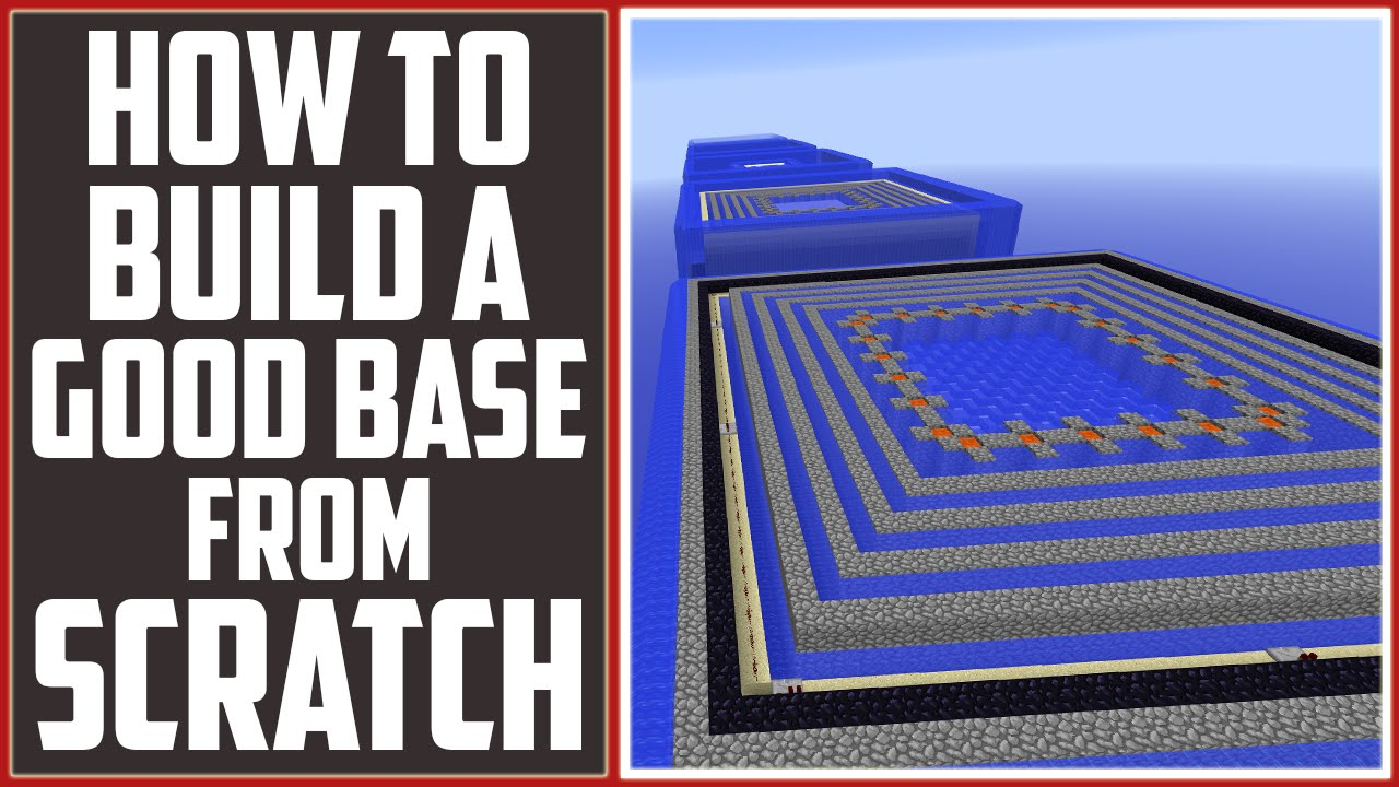 Best Way To Build Your Faction Base Minecraft Tutorial YouTube