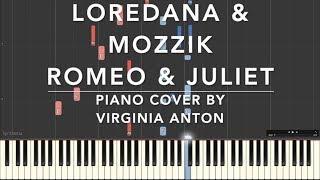 Romeo & Juliet Piano Cover Loredana & Mozzik Piano Tutorial Instrumental Cover