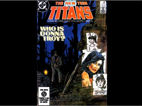 "The New Teen Titans: # 38 ""Who Is Donna Troy"""