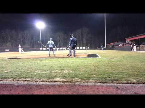Tanner Revis Backside Double Enka Dirtbags Baseball