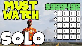 EASIER & SOLO Gta 5 Online Money Glitch To Get Rich... (Unlimited Money) *ALL Consoles*