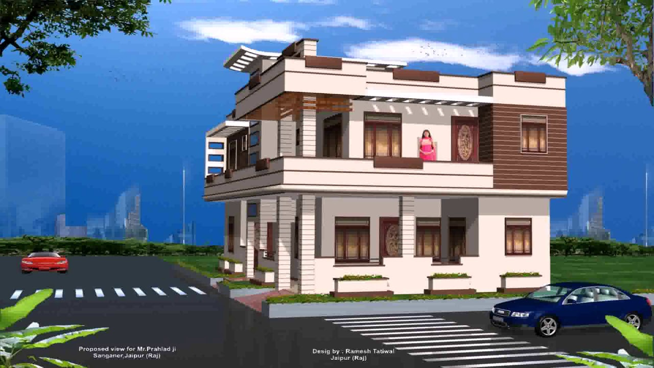 Home Exterior Design Ideas India Youtube