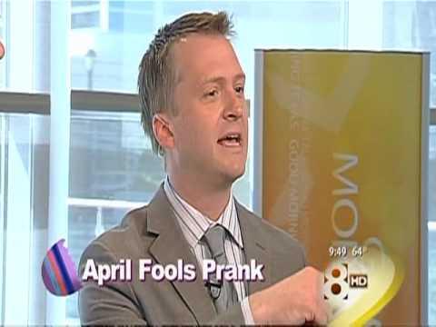 April Fool's Prank on Good Morning Texas