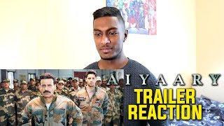 Aiyaary Trailer Reaction & Review | Sidharth Malhotra, Manoj Bajpayee | PESH Entertainment
