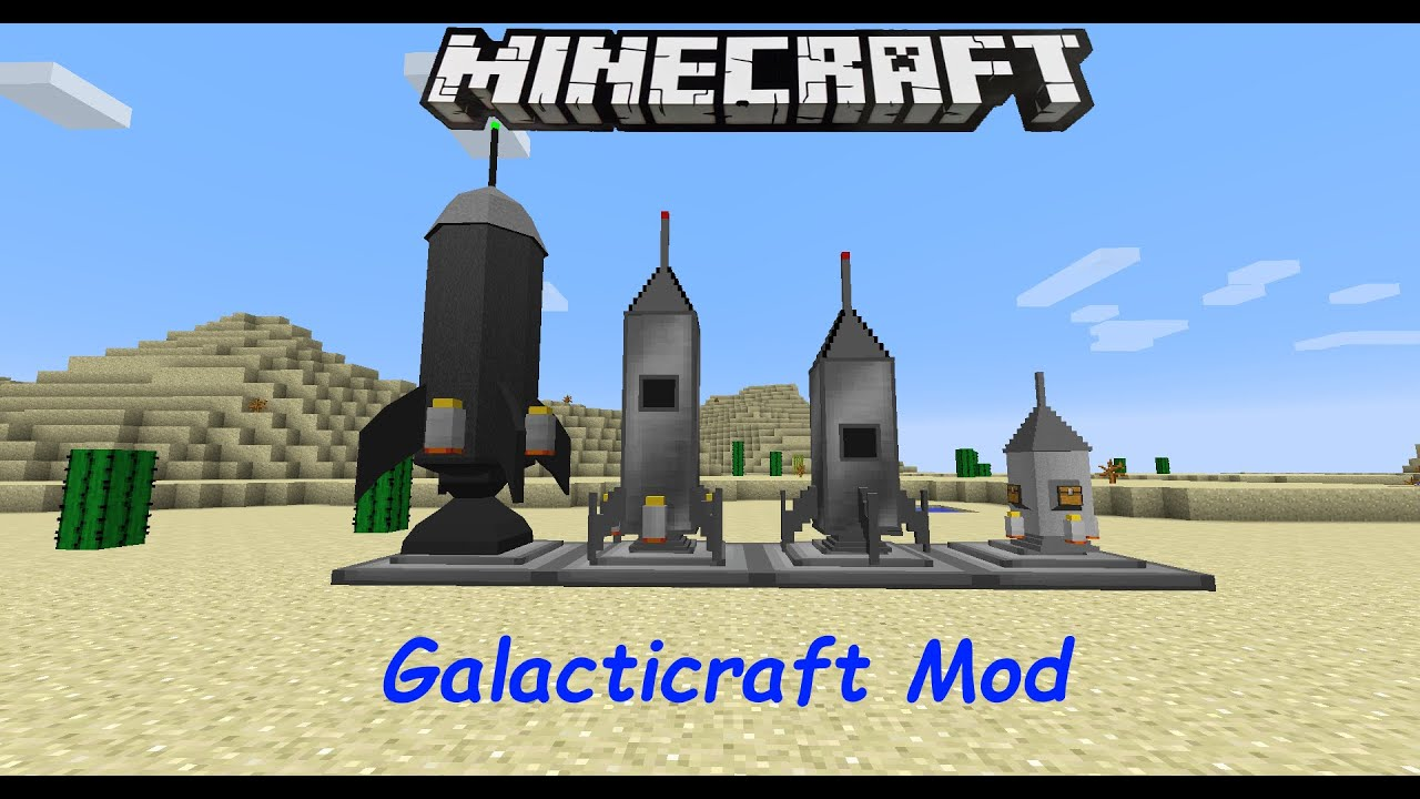 Galacticraft Minecraft Mod YouTube - Minecraft grobe hauser download