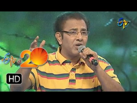 Vandemataram Srinivas Performance - Em Pillado Eldamostava Song in Nalgonda ETV @ 20 Celebrations